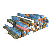 3D container industrial