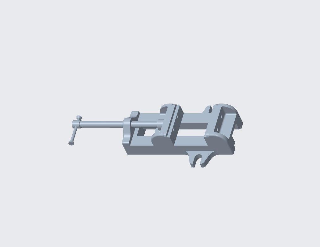 3D fixture model