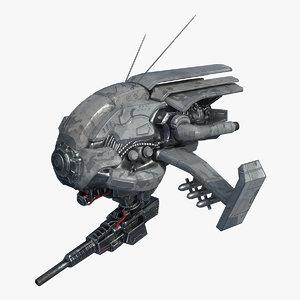 ready drone 3D model