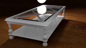 table sofa 3D