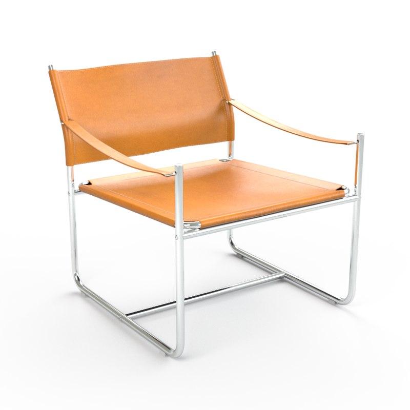 3D ikeas chair amiral