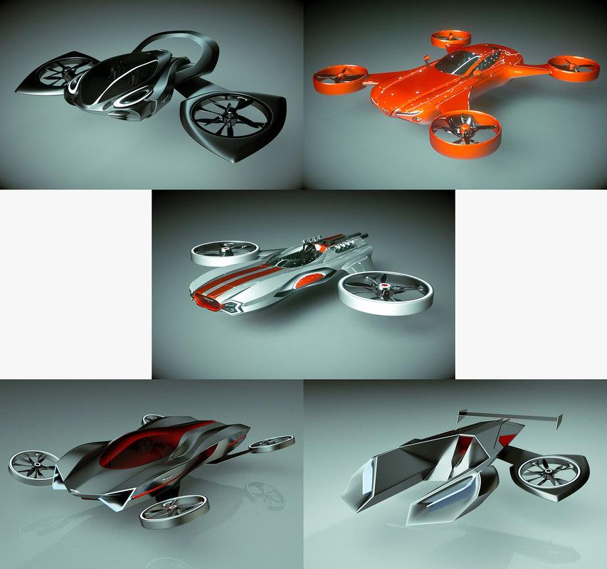 3D model 5 1 cool copter