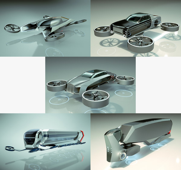 3D 5 1 cool copter model