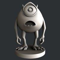 3D cnc statue model