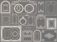 Boiserie Decorations - 30 pieces
