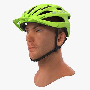giro revel helmet male head 3D