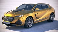 Generic Sport SUV Coupe 2019