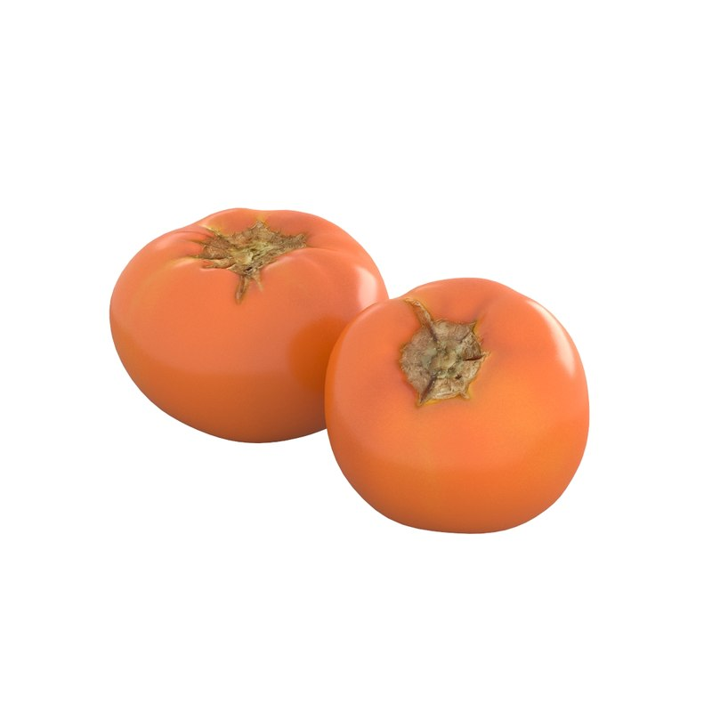 tomato yellow 3D