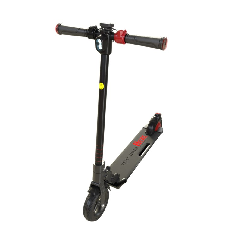 work scooter 3D