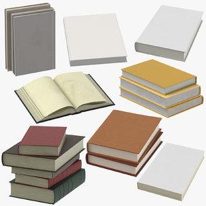 books 02 3D model