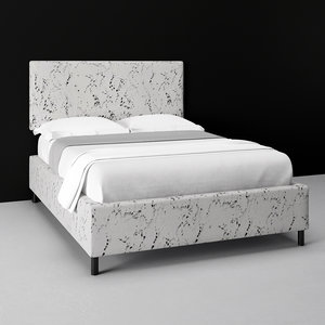 square bed 3D