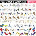 Playground Equipment - 160 MEGAPACK