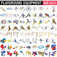 Playground Equipment - 160 MEGAPACK