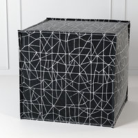 The Inside Square Pouf