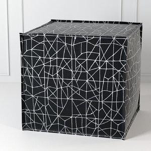 3D model square pouf