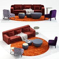 hector sofa 3D model