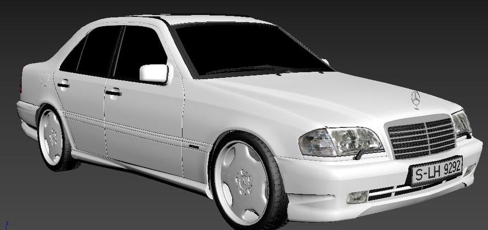 Mercedes-Benz W202 C43 AMG