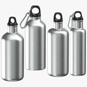 3D alluminium bottles