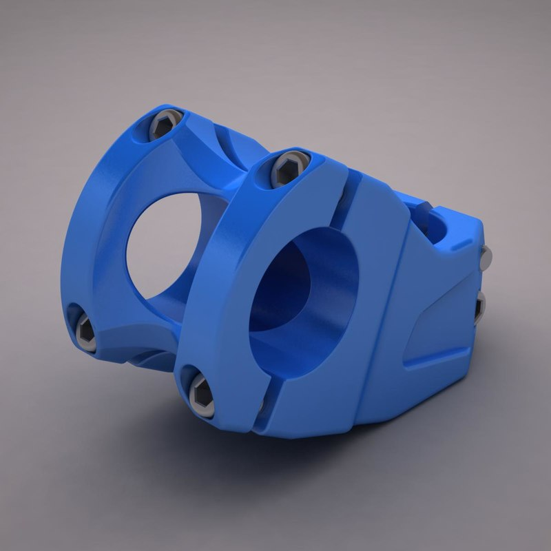 bicicle stem 3D