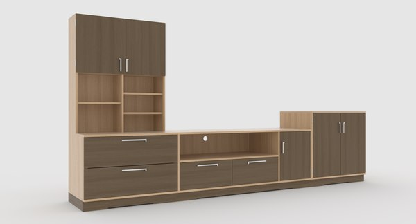 tv stand 69 3D model