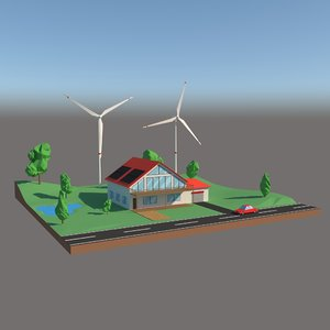 safe energy 3D model