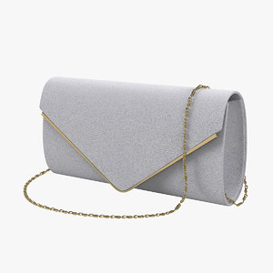 3D model gesu women clutch bag