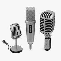 3 Microphones Collection
