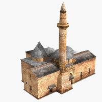 3D mosque ahi evran