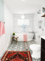 bathroom b8 3D