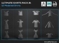shirts 3D