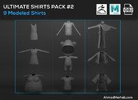 3D model shirts