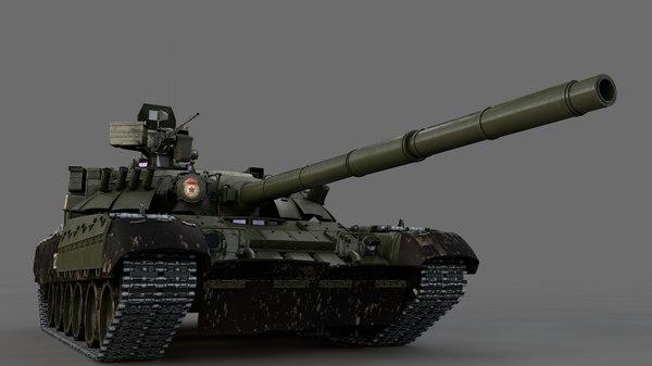 t-80 u 3D model