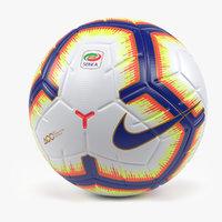 3D nike merlin serie soccer ball