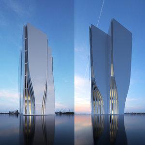 building office 3D
