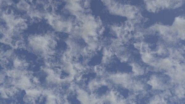 3D vdb clouds