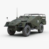 BTR 40 Armored Car