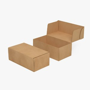 3D corrugated mailing box 3