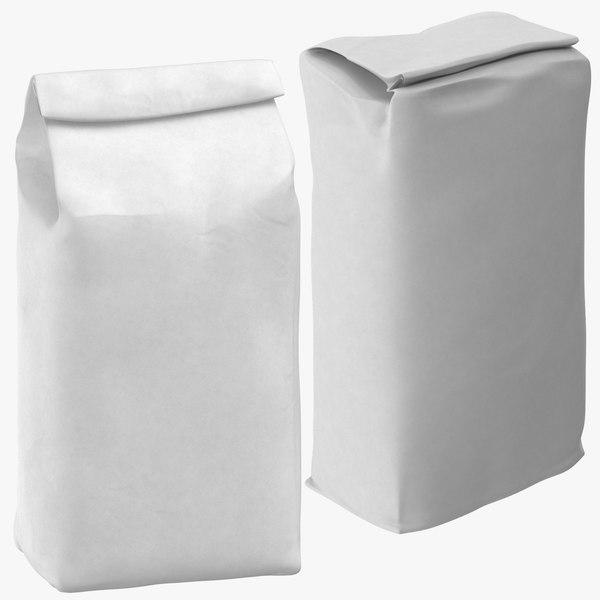 3D sugar flour packages