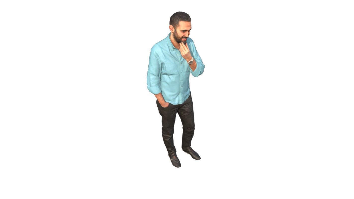 3D guy standing