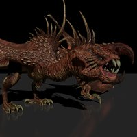 rig studio license vulture 3D model