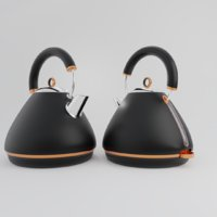 3D electric kettle appliance