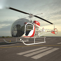 3D bell 47 model