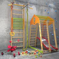 A set of sports equipment 2