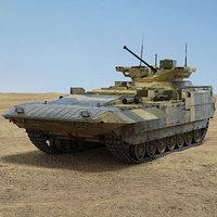 t-15 armata t 3D model