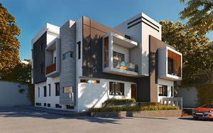 exterior banglow 3D