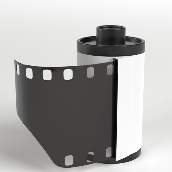photographic roll 3D model