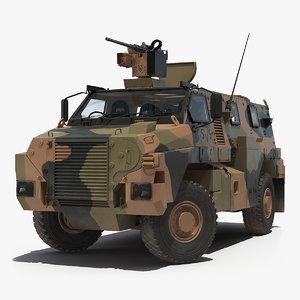 3D 4x4 bushmaster mr6 camo