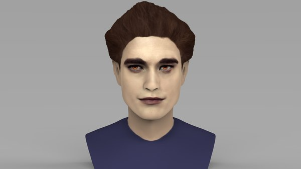 3D edward cullen pattinson twilight model