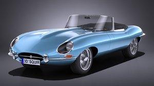 e-type 1962 3D model