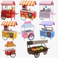 carts dog cream 3D